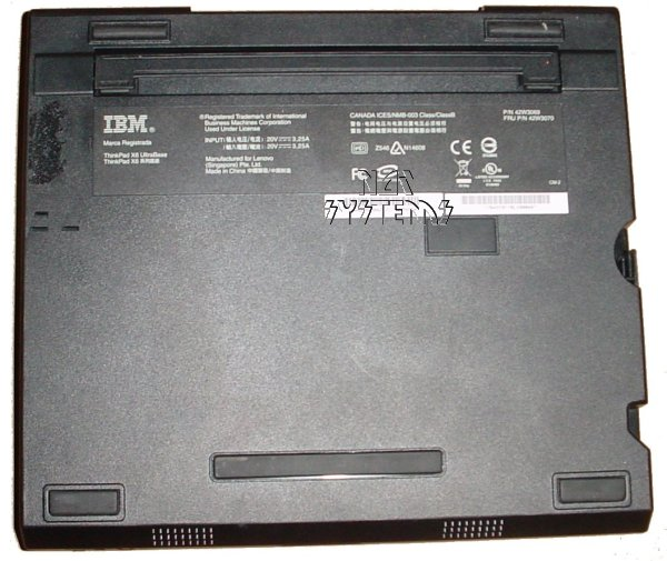 IBM Lenovo Thinkpad X60 X61 Docking Station UltraBase on