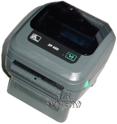 Zebra ZP 450 / ZP450 Thermal Label Barcode Printer, for UPS/FedEx