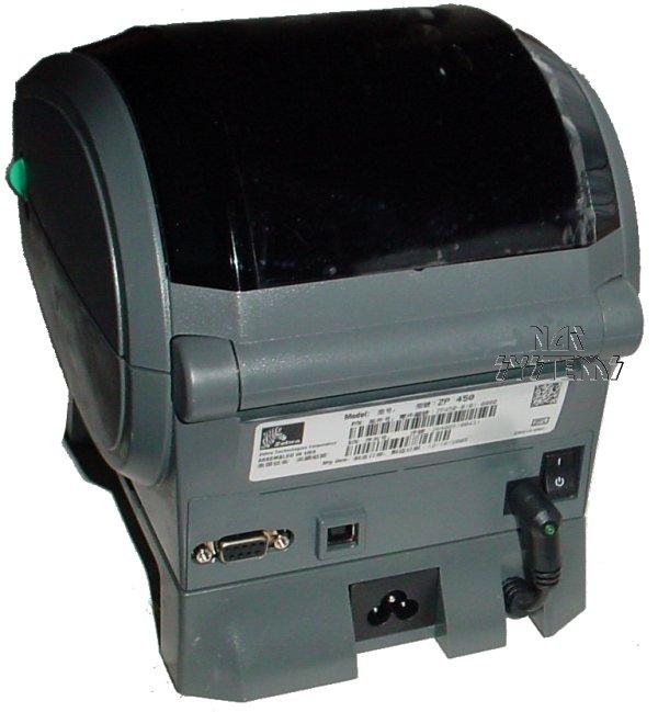 Zebra ZP 450 / ZP450 Thermal Label Barcode Printer, for UPS